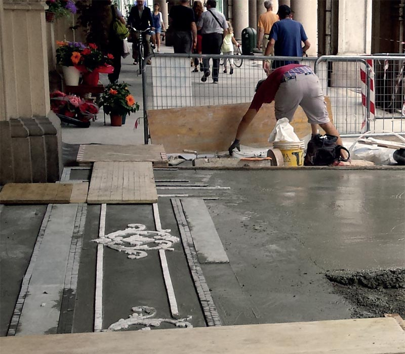 gallery Restauro pavimentazione Via Cernaia