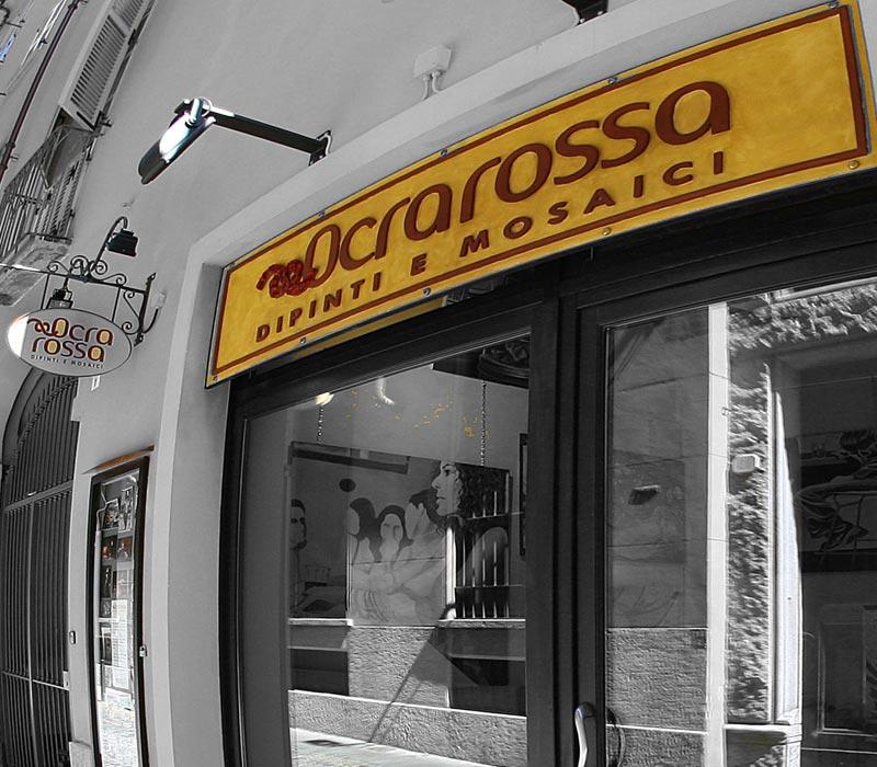 showroom Torino Ocra Rossa
