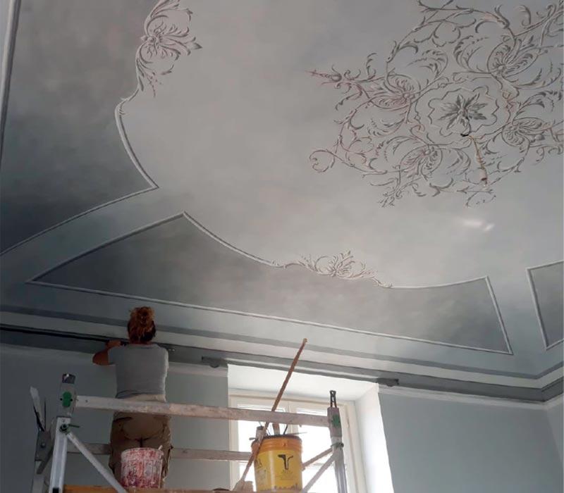 Ocra-Rossa creazione dipinti murali