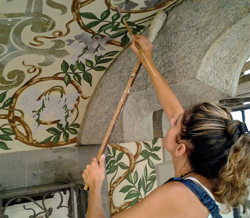 Ocra-Rossa creazione e recupero dipinti