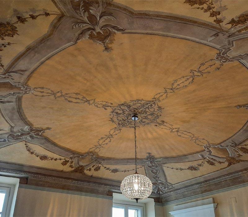 Ocra-Rossa creazione dipinti soffitti