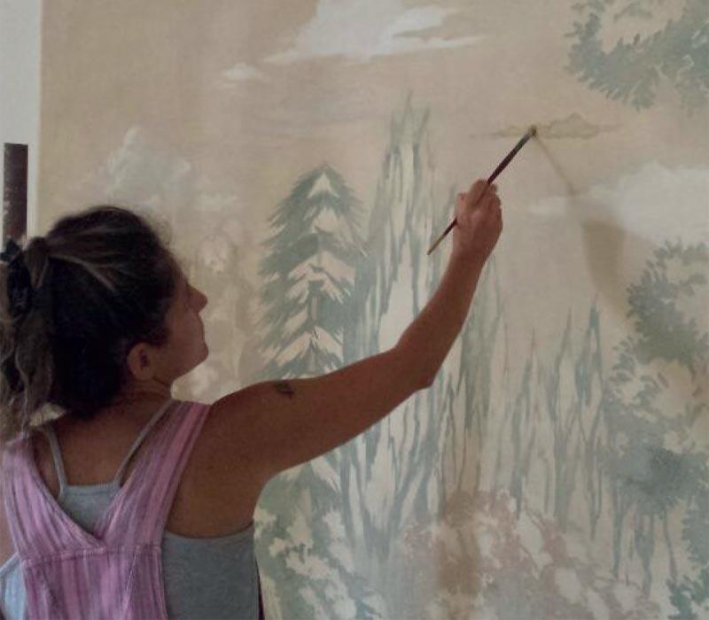 Ocra-Rossa restauro dipinti Torino