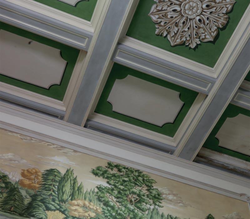 Ocra-Rossa restauro dipinti scalinate