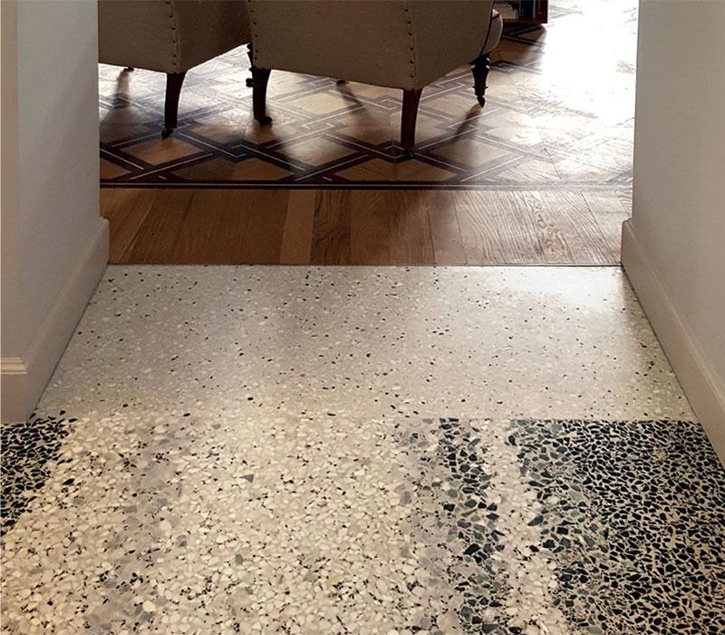 Seminato alla veneziana marble carpet Torino