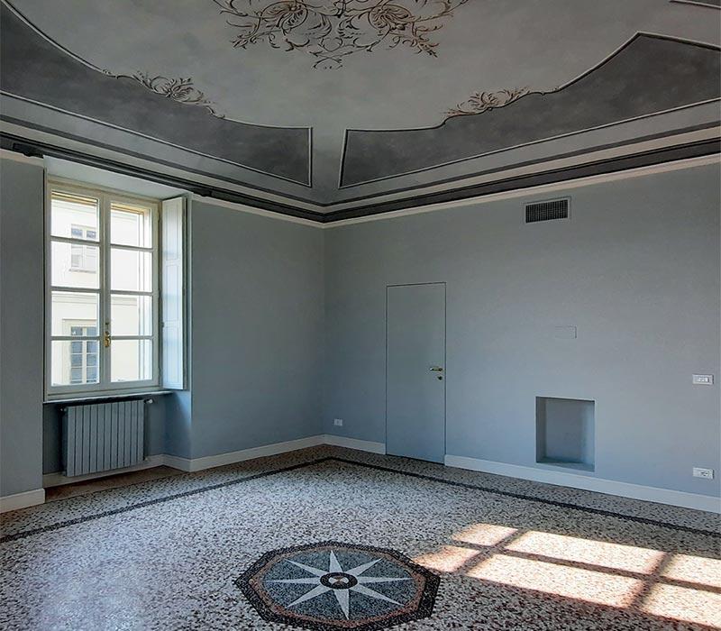 restauro ville e palazzi d'epoca Torino