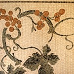 Dettaglio mosaico di marmo