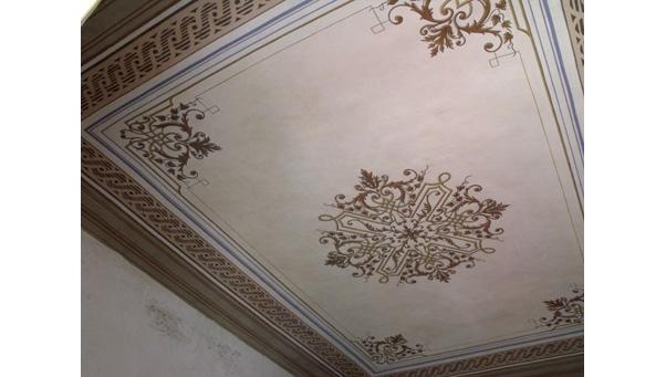 Dipinti: Restauro soffitti decorati  Ocrarossa