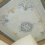 Foto 3 Restauro Soffitto decorato