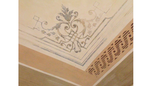 Dipinti restauro soffitti decorati torino ocrarossa - Soffitti decorati ...