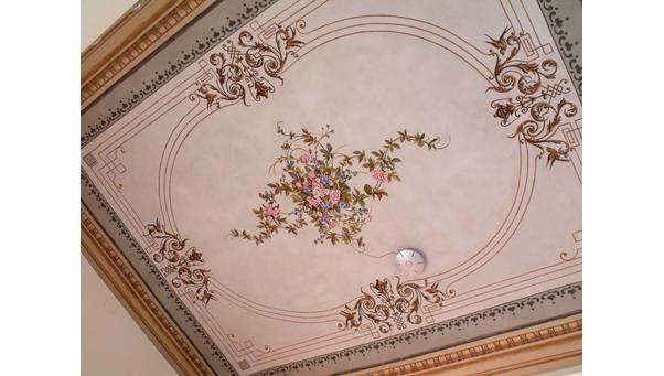 Dipinti: Restauro Pittorico Soffitto  Ocrarossa