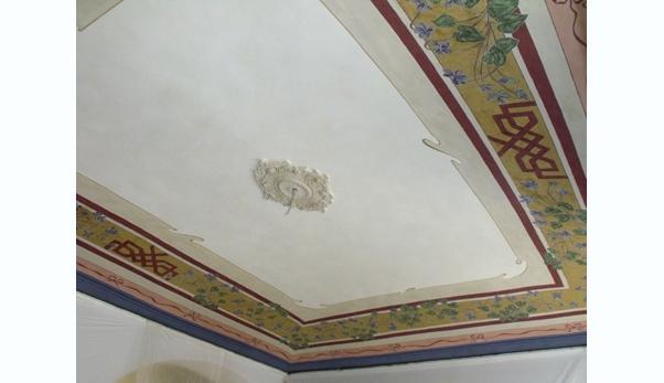 Dipinti restauro soffitti decorati ocrarossa - Soffitti decorati ...