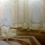 interno barocco trompe l'oeil