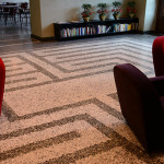 Labirinto in graniglia di marmo