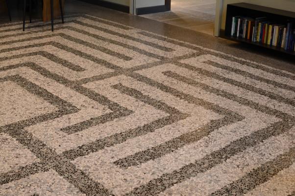 Finest labirinto in seminato alla veneziana with pavimento - Piastrelle tipo veneziana ...